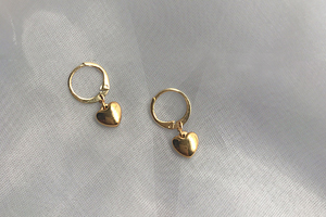[해외] 14K도금 Honey earrings (2types)